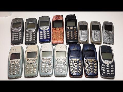 Огромная посылка с ретро телефонами Nokia с аукциона на шару