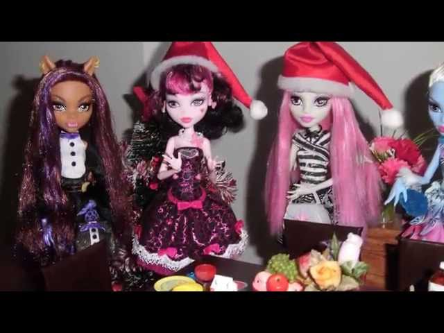 Monster High - O Natal das Monstrinhas (Christmas dinner) Travel Video
