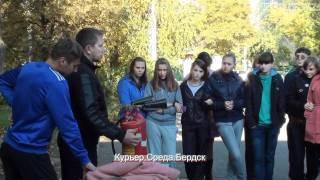В бердской школе прошли уроки безопасности