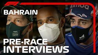 F1 Drivers Look Ahead To The 2021 Bahrain Grand Prix