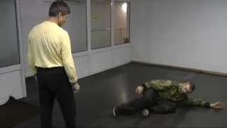РадаборНижняя акробатика Толчок падение кувырок Перекат