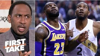 'If you're Kawhi Leonard, you don't want to play with LeBron' – Stephen A. | First Take