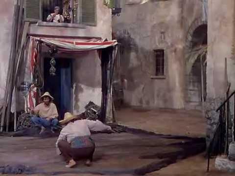 Burt Lancaster y Nick Cravat en El temible burlón