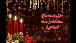 Ich wünsche Dir einen schönen 3. Advent