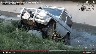 mercedes g vs pajero vs 4runner vs jeep wj by top đir