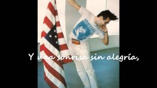 Morrissey- America is not the world (Subtitulado)