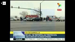 Mueren tres personas en un largo tiroteo en una clínica de abortos de EE.UU.