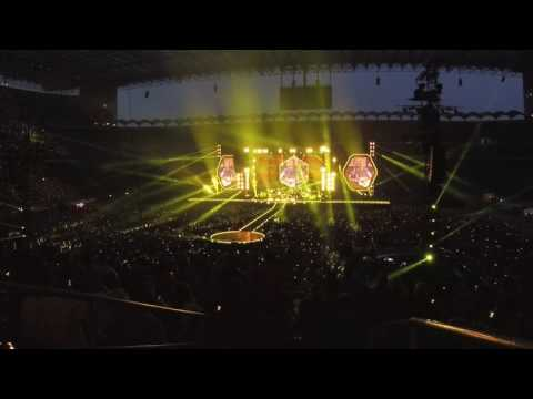 Coldplay AHFOD Milano - san siro. Concerto intero (tranne ultime 3 canzoni)