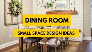 65+ Amazing Small Space Dining Room Ideas for Your Home