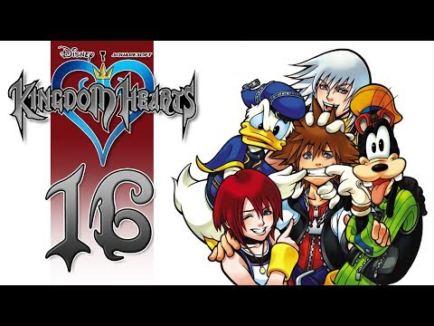 Let's Play Kingdom Hearts HD - EP16 - Cave Of Wonders