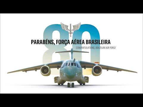 Brazilian Air Force celebrates 80th Birthday