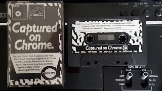 Captured On Chrome - 1983 - HMV - BASF Chrome cassette