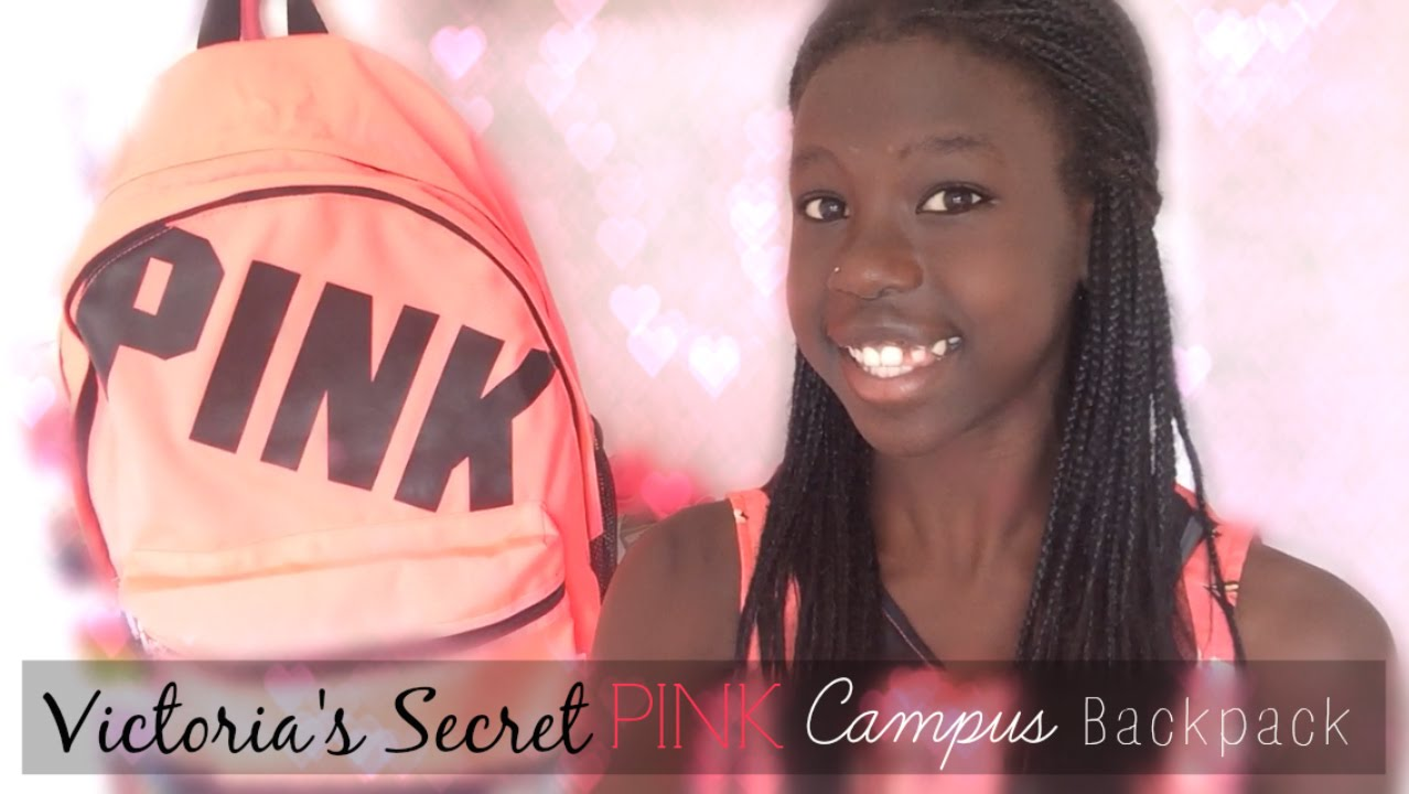 REVIEW : Victoria's Secret PINK Campus Backpack - YouTube