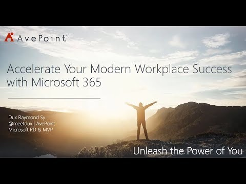 Accelerate Your Modern Workplace Success with Microsoft 365