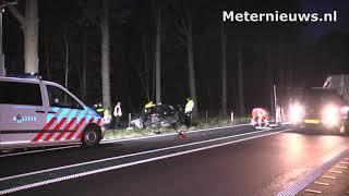 Dodelijk ongeval n34 bij Hardenberg