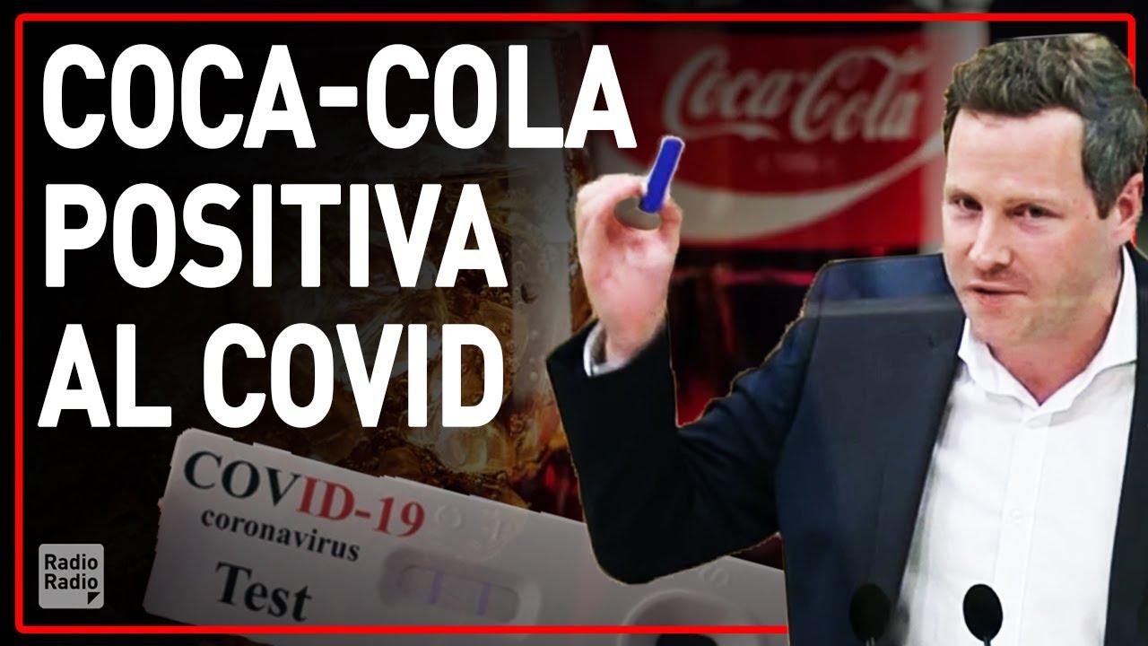 COCA-COLA POSITIVA AL COVID-19! ▷ Parlamentare austriaco esegue il test rapido in diretta - YouTube