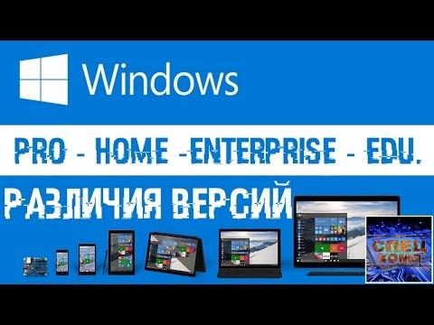 Отличия версий Windows и какую битность 32 или 64 выбрать?