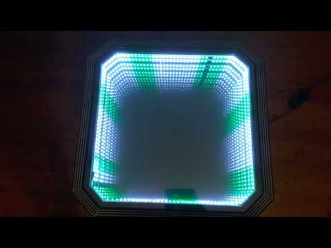 The Portal Table - an antique 'upcycled' custom art-deco remote controlled party table