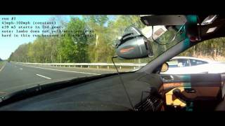 E39 M5 vs. Lamborghini Gallardo and Theory of Acceleration