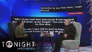 TWBA: Jericho's reaction to Heart's trending message for him