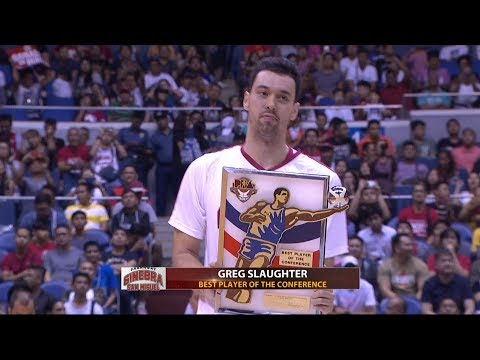 Greg Slaughter is the Best Player Of The Conference | PBA Governor's Cup 2017