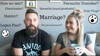 Our first Q&A || Marriage and Flashing my Butt? 😳