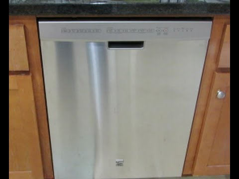 Review Of The Kenmore Elite 24 Dishwasher Model