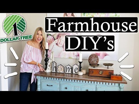 Fall Dollar Tree DIY 2019🍁 Farmhouse Fall Decor