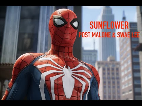 Sunflower [Post Malone & Swae Lee] Spider - Man PS4 AMV