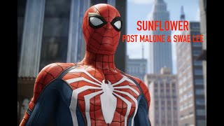 Sunflower [Post Malone & Swae Lee] Spider-Man PS4 AMV Video
