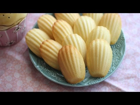 French Butter Madeleine (Banh Con So) Recipe