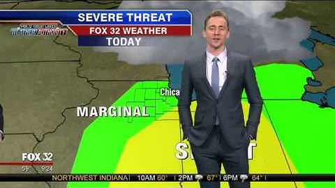 Permanent Link to Thor\'s Brother, Loki (Tom Hiddleston) Does the Weather in Chicago & Blames Chris Hemsworth