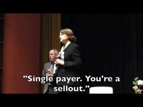 Support Single Payer or Retire Feinstein
