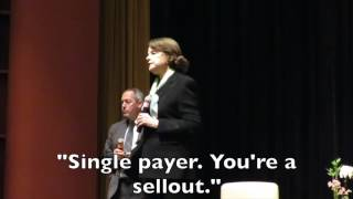 Support Single Payer or Retire Feinstein