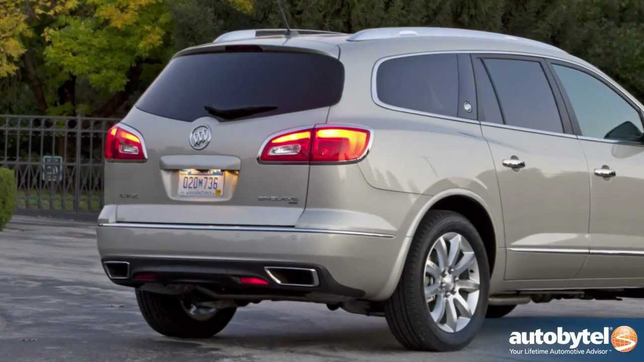 2013 buick enclave luxury crossover suv test drive & walkaround video review