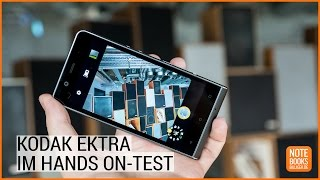 Kodak Ektra Smartphone Hands On Test - Deutsch / German ►► notebooksbilliger.de