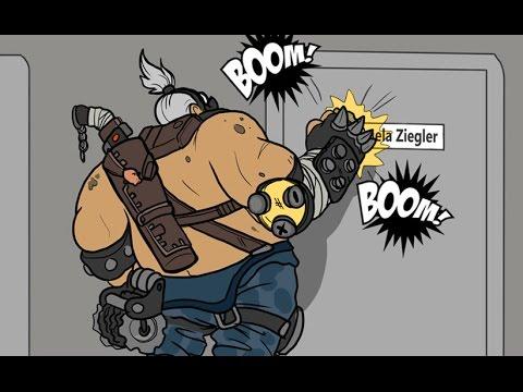 Roadhogs Special Meeting [Overwatch Comic]