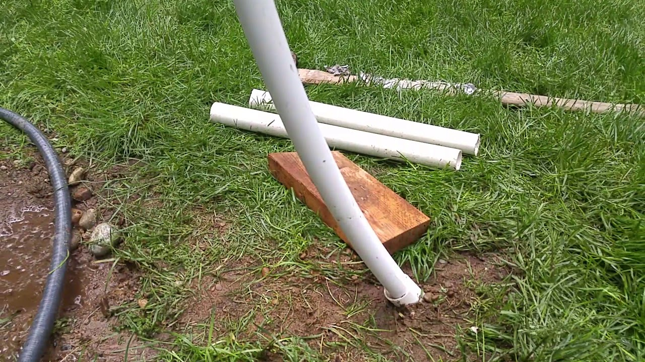 Homemade PVC net setup, Super easy