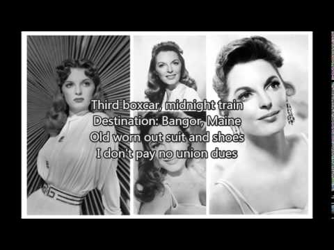 JULIE LONDON - King Of The Road�)with lyrics