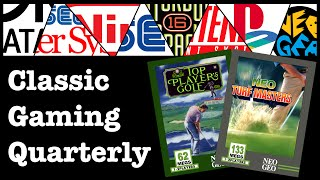 Neo Turf Masters and Top Players Golf on the SNK Neo-Geo AES and MVS