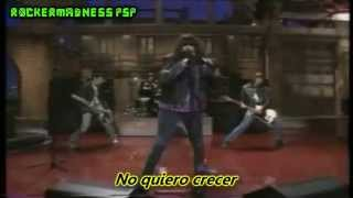 The Ramones- I Don't Want To Grow Up- (Subtitulado en Español)