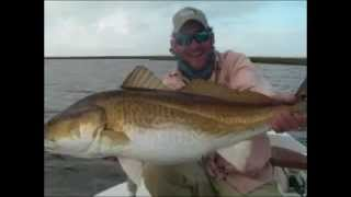 Louisiana Redfish Fishing - Mississippi Delta Marsh