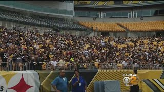 Video Fans Flock To First Steelers Family Fest At Heinz Field download MP3, 3GP, MP4, WEBM, AVI, FLV Agustus 2018