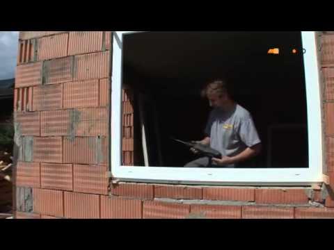 RAL beépítés új építésű házban   műanyag ablak