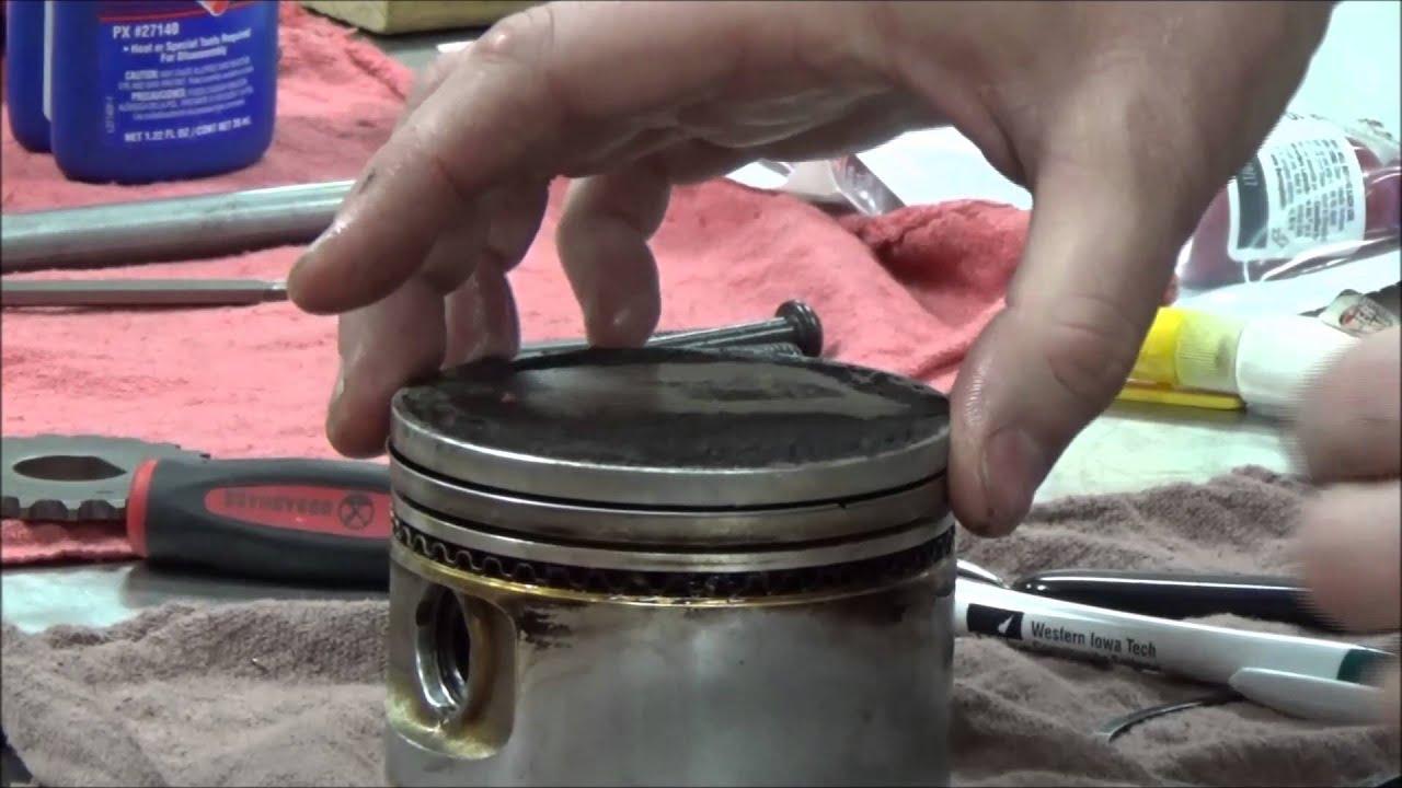 How To Install Piston Rings And Not Break Them Bonus Oil Ring Opel Corsa Wiring Diagram Pdf Explanation Pov Installation