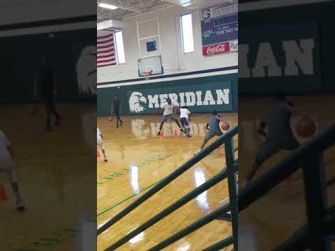 Alfred Love Basketball Hood camp c/o 2022 Kemper County High School