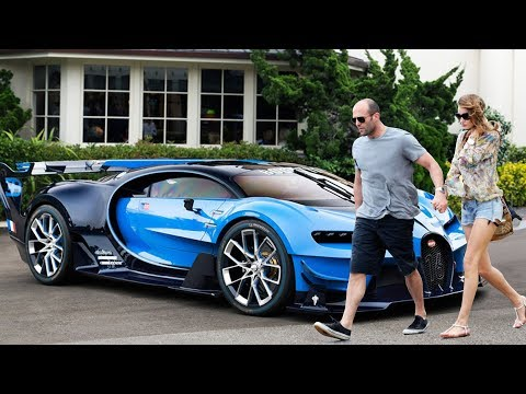 Jason Statham New Car Collection & Girlfriend ★ 2018