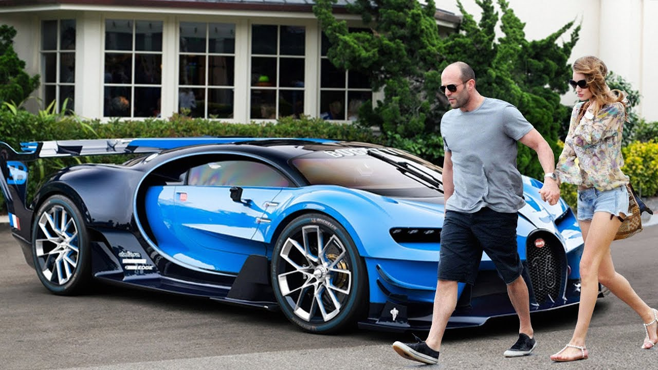 Jason Statham New Car Collection & Girlfriend ★ 2018 - YouTube
