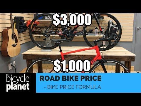 Road Bike Basics  Comparing bike pricing formula