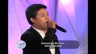 "Download Marcelito Pomoy sings ""Aasa sa Awa Mo, Ama"" by Rolan Delfin | ASOP 6 Mp3 and Videos"